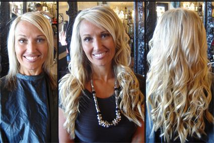 angie clark hair extensions
